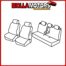QF17010D LAMPA SET COPRISEDILI SUPERIOR - NERO/BLU - HONDA CIVIC 4P (03/17>)