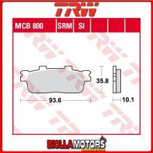 MCB800SRM PASTIGLIE FRENO POSTERIORE TRW Peugeot LXR 125 2010- [SINTERIZZATA- SRM]