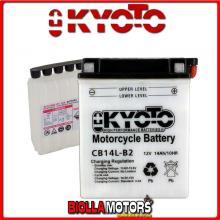 712147 BATTERIA KYOTO YB14L-B2 [NO ACIDO] YB14LB2 MOTO SCOOTER QUAD CROSS [NO ACIDO]
