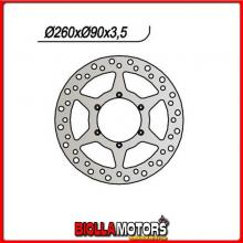 659728 DISCO FRENO ANTERIORE NG MOTOR HISPANIA City 50CC 2003 728 260101,5903,56