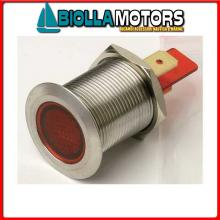 2105007 SPIA PILOT LIGHT 19MM YELLOW< Spie LED Inox 19MM 12V