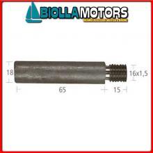 5127013 ANODO BARROTTO Barrotto Motore Cummins (18x65mm)