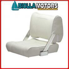 0850050 SEDILE 2pos. WHITE Sedile Fronte-Retro