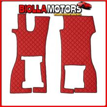 96214 LAMPA COPPIA TAPPETI IN SIMILPELLE - ROSSO - SCANIA R SERIE 7 (11/16>)