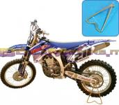 PDSMX04 BIKETEK STAND MX ASSALE TRIANGLE - asse posteriore