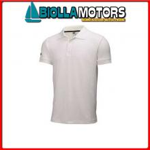 3041204 HH CREWLINE POLO 853 GREY XL Polo HH Crewline