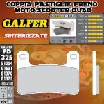 FD325G1375 PASTIGLIE FRENO GALFER SINTERIZZATE ANTERIORI SUZUKI GSX 1300 R HAYABUSA 08-