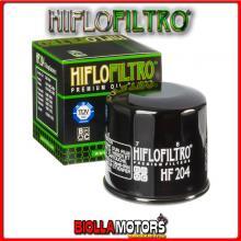 HF204 FILTRO OLIO HONDA VFR800 F1-2,3,4,5,6,7,8.9,A,B Interceptor V TEC (ABS) RC46 2005- 800CC HIFLO