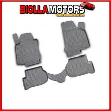 NV00534 NOVLINE SET TAPPETI SU MISURA IN TPE - VOLKSWAGEN GOLF V 3P (11/03>10/08) FIX ROTONDI INTEGRATI