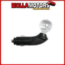 39098 LAMPA CRYSTAL-BALL 12V - ROSSO