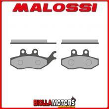 6217433BB COPPIA PASTIGLIE FRENO MALOSSI Posteriori PIAGGIO BEVERLY Sport Touring 350 ie 4T LC euro 3 <-2016 (M693M) SPORT Poste