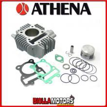 P400250100005 GRUPPO TERMICO 130cc 57mm Big Bore ATHENA SUZUKI DR-Z 110 2003-2005 110CC -