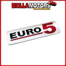 98125 LAMPA EMBLEMA ANTINQUINAMENTO 3D CROMATO - 170X50 MM - EURO 5