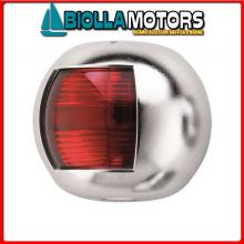 2111920 FANALE FLAT RED INOX Fanali (R.I.Na.) Mini Flat Chrome