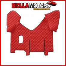 96482 LAMPA TAPPETO CENTRALE IN SIMILPELLE - ROSSO - IVECO STRALIS (08/02>12/12)