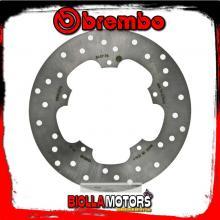 68B40776 DISCO FRENO POSTERIORE BREMBO ADIVA AD 200 2006- 250CC FISSO