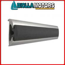 3833956 TERMINALE PROFILI ALU 56 WHITE Bottazzo Profilo Parabordo con Supporto in Alluminio Anodizzato