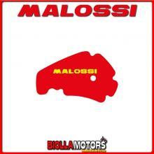 1412129 RED SPONGE MALOSSI PIAGGIO BEVERLY 500 ie 4T LC euro 2-3