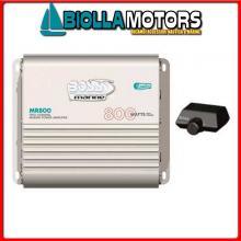 5640114 AMPLIFICATORE BOSS MARINE MR800 Amplificatore BOSS MR800 400W x2