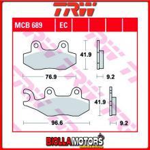 MCB689 PASTIGLIE FRENO ANTERIORE TRW Aeon 125 Elite i 2012- [ORGANICA- ]