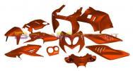 STR-905/OR SET CARENE arancione metallizzato 11 pezzi Aerox/Nitro