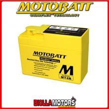 MT4R BATTERIA MOTOBATT YTR4A-BS AGM 813048 YTR4ABS MOTO SCOOTER QUAD CROSS