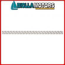 3104506100 LIROS POLYAMIDE BRAID 6MM WHITE 100M Treccia Liros Polyamide Braid