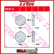 MCB72 PASTIGLIE FRENO ANTERIORE TRW Suzuki GT 200 N, E 1979-1981 [ORGANICA- ]