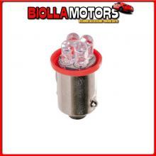 98333 LAMPA 24V MICRO LAMPADA 4 LED - (T4W) - BA9S - 2 PZ - D/BLISTER - ROSSO