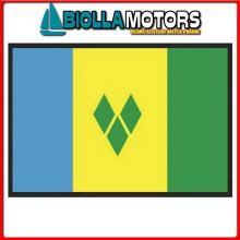 3403940 BANDIERA S.VINCENT 40X60CM Bandiera S.Vincent and Grenadines