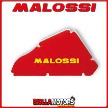 1412205 SPUGNA FILTRO RED SPONGE MALOSSI GILERA RUNNER PureJet 50 2T LC <-2005