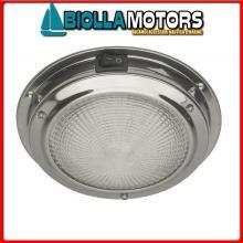 2140052 PLAFONIERA CLASSIC D140 LED INOX Plafoniere Classic-Inox LED