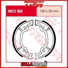 MCS968 GANASCE FRENO POSTERIORE TRW MBK YN 100 Ovetto 2000- [ORGANICA- ]