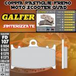 FD107G1370 PASTIGLIE FRENO GALFER SINTERIZZATE ANTERIORI GAS GAS SM 125 01-04
