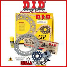 37A088 KIT TRASMISSIONE DID GP HONDA CBF 600 ( Ratio - 2 ) 2004-2007 600CC