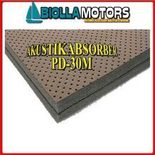 3317530 RIVESTIMENTO FONO DOUBLE 30MM 100X120 Rivestimento Fono/Termo Isolante Akustikabsorber