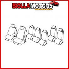 QG16056B LAMPA SET COPRISEDILI SUPERIOR - BEIGE - FORD GALAXY (10/15>)