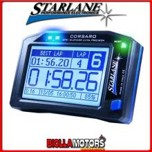 CORS Cronometro STARLANE CORSARO-R GPS + GLONASS con Display Touch Screen Monocromatico e connessione Bluetooth. Abbinabile a mo