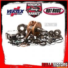 WR00006 KIT ALBERO MOTORE + PISTONE + ACCESSORI WRENCH RABBIT Honda CRF 450 RX 450cc 2017-2018