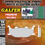 FD169G1651 PASTIGLIE FRENO GALFER PREMIUM ANTERIORI MBK MOTOBEKANE SKYLINER 00-