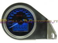 KO-BB551B11 CONTAKM ANALOGICO + CONTAKM TOTALI KOSO UNIVERSALE 260 KM/H (RETROILLUM. BLU)