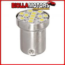 98305 LAMPA 24/28V HYPER-LED 12 - 12 SMD X 1 CHIP - (R5W) - BA15S - 1 PZ - SCATOLA - BIANCO - DOPPIA POLARIT?