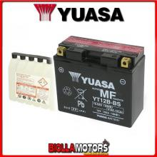 YT12B-BS BATTERIA YUASA DUCATI Multistrada 1200 1198 2010- 0651100 YT12BBS