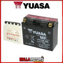 YT12B-BS BATTERIA YUASA 12V 11AH DUCATI Multistrada 1200 1198 2011- 0651100 YT12BBS
