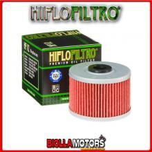 HF112 FILTRO OLIO QUADZILLA 450 R / RS / Sport - 450CC HIFLO