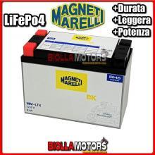 MM-LT4 BATTERIA LITIO MAGNETI MARELLI MMX16L-B LiFePo4 MMX16LB MOTO SCOOTER QUAD CROSS