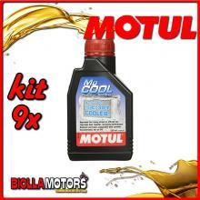 KIT 9X 500ML MOCOOL MOTUL ADDITIVO RADIATORE MOTUL 500 ML - 9x 107798
