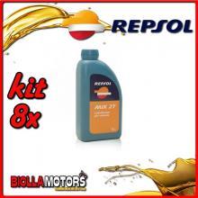 KIT 8X LITRO OLIO REPSOL MIX 2T 1L - 8x RP029A51IT