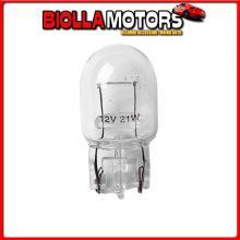 58097 LAMPA 12V LAMPADA CON ZOCCOLO VETRO - W21W - 21W - W3X16D - 2 PZ - D/BLISTER