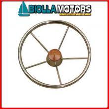 4641537 VOLANTE D370 INOX Volante Classic S/Steel